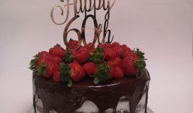 Dripping cake 1