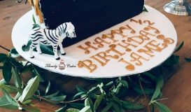 Half birthday cake 1