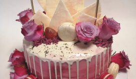 Dripping cake 13