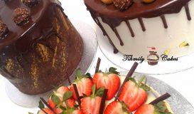 Dripping cake 15