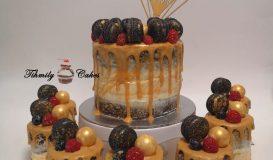 Dripping cake 17