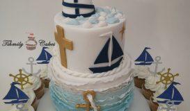 Baptism Cake 1