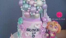 Cake for girls 80