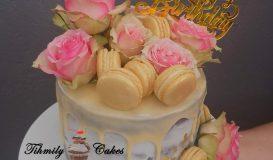 Dripping cake 19