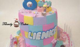 Cake for girls 100